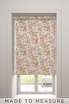 Asara Coral Orange Made To Measure Roller Blind