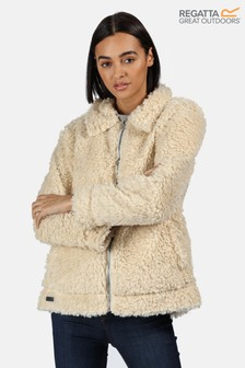 Regatta Cream Akasha Fluffy Teddy Fleece