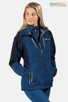 Regatta Blue Carletta V 3-In-1 Waterproof Jacket