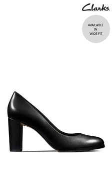 Clarks Black Kaylin Cara Shoes