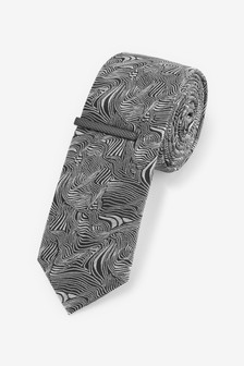 Zebra Pattern Tie