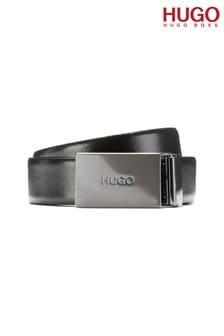 HUGO Black Grory Buckle Belt