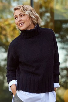 Emma Willis Chunky Roll Neck Top