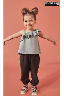 Myleene Klass Kids Black Trousers