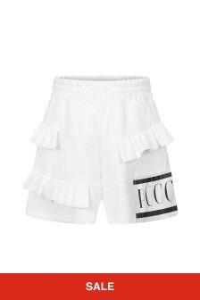 Emilio Pucci Girls White Shorts