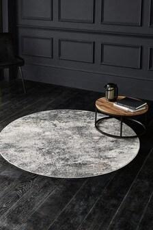 Circle Celeste Abstract Rug