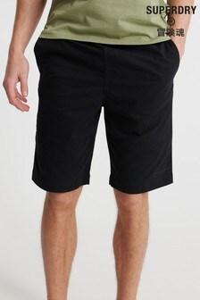 Superdry Black Chino Shorts