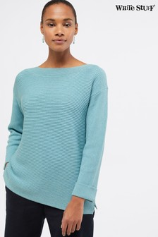 White Stuff Blue Uptown Jumper