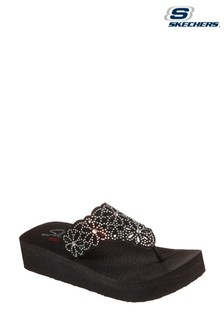 Skechers® Black Vinyasa Pretty Sandals