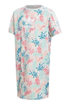 adidas Originals Floral Tee Dress