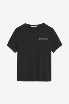 Calvin Klein Jeans Boys Chest Logo T-Shirt