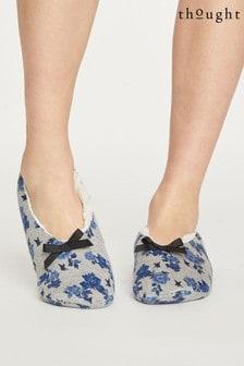 Thought Grey Reanna Slipper Socks