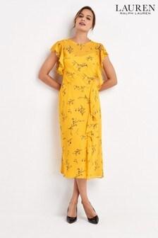 Lauren Ralph Lauren® Yellow Endine Dress