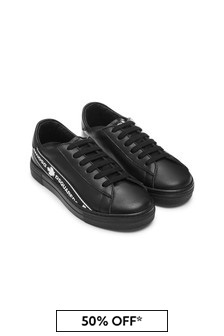 Dsquared2 Kids Boys Black Trainers