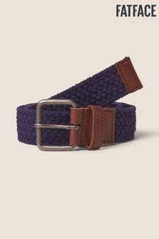 FatFace Brown Webbing Belt