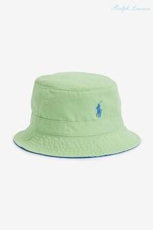 Polo Ralph Lauren Twill Logo Bucket Hat