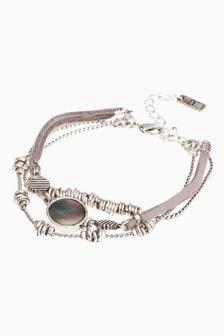 Casual Link Detail Bracelet