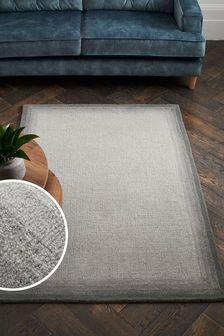 Grey Blenda Wool Rug