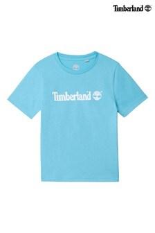 Timberland® Blue Logo T-Shirt