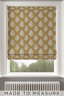 Stellard Dijon Leaf Made To Measure Roman Blind