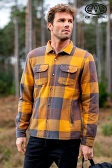 Animal Coffee Brown Silverstoe Long Sleeve Shirt