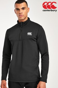Canterbury Quarter Zip Poly Top