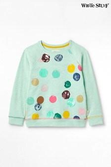 White Stuff Kids Circle Of Life Jersey Sweater