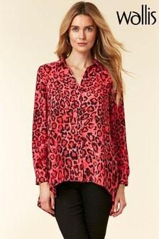Wallis Pink Animal Shirt