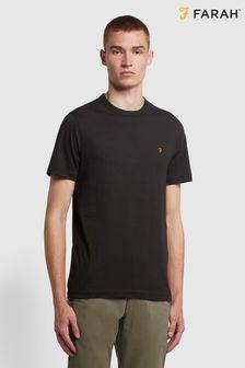 Farah Black Danny T-Shirt