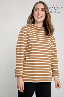 Seasalt Brown Morning Mist Sweatshirt