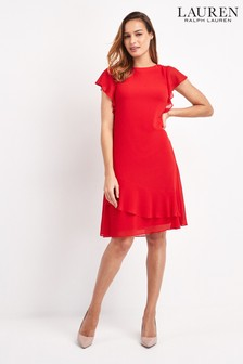 Lauren Ralph Lauren® Coral Cyrena Dress