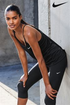 Nike Run Black Miler Tank Top
