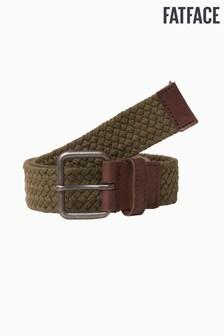 FatFace Khaki Brown Webbing Belt