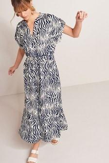 Relaxed Midi Dress