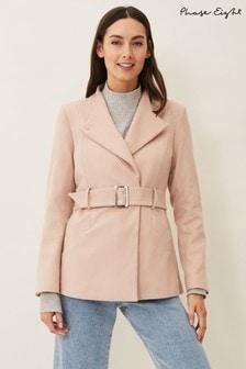 Phase Eight Neutral Susie Short Coat