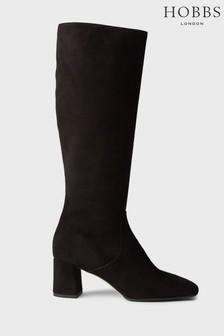 Hobbs Black Imogen Knee Boots