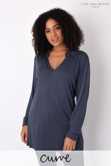 Live Unlimited Curve Slate Grey Jersey Shirt