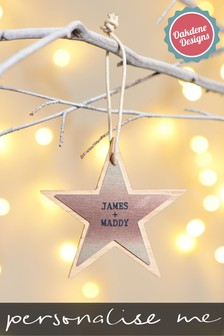 Personalised Star Family Sign by Oakdene Designs
