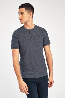 Slim Fit Grandad T-Shirt