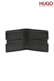 HUGO Black U-Bahn Wallet