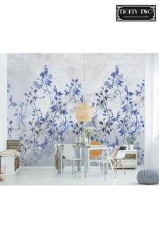 Eighty Two Winter Bloom Wall Mural