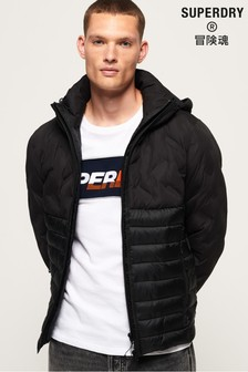 Superdry Radar Mix Quilt Fuji Jacket