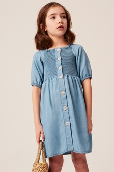 Shirred Dress (3-16yrs)