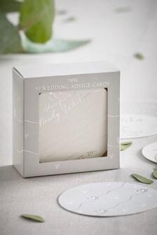 50 Pack Wedding Advice Cards