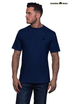 Raging Bull Navy Signature T-Shirt