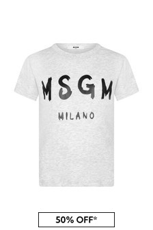 MSGM Kids Cotton T-Shirt