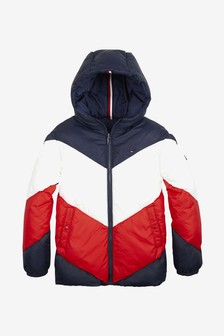 Tommy Hilfiger Girls Reversible Padded Jacket