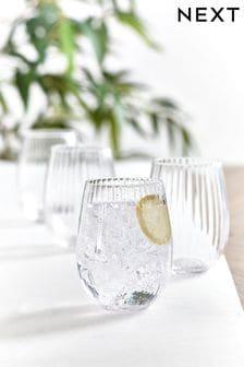 Sienna Set of 4 Tumbler Glasses