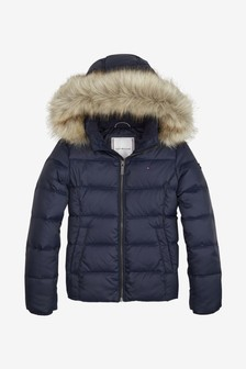 Tommy Hilfiger Girls Essential Basic Down Jacket