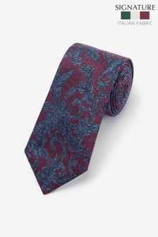 Signature Patterned 'Made in Italy' Tie